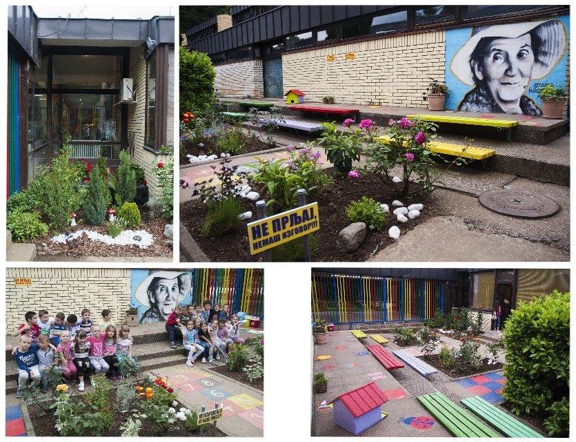 Četvrti izazov - Uređenje školskog dvorišta